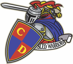 CD Sled Warriors logo 08 12 09 img 0