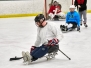 2018 Sled Hockey Practice