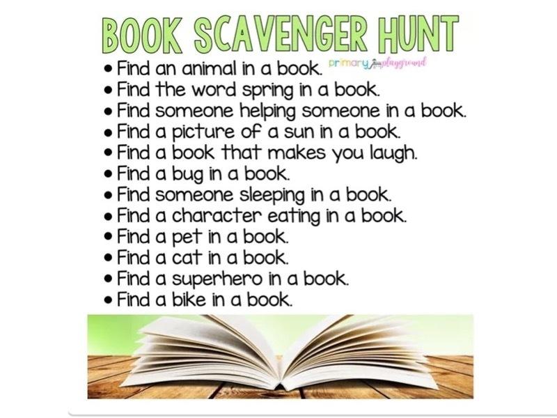 book-scavenger-hunt