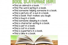 book-scavenger-hunt